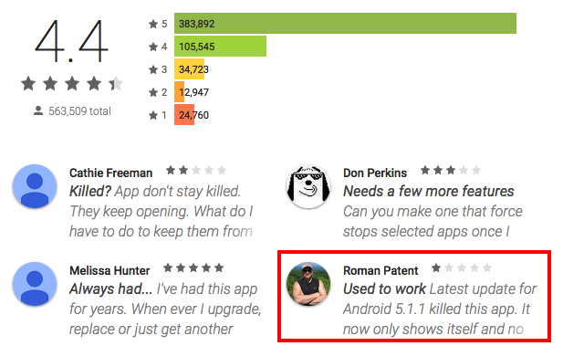 Fallout from the Android Stagefright OTA Update: Trustlook
