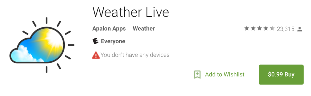 weatherlive99cents