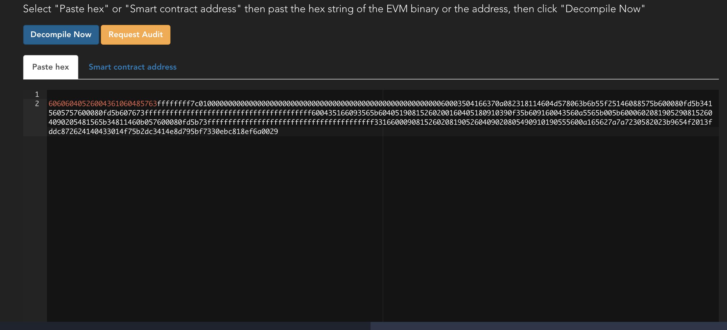 Smart Contract Guardian – an online EVM decompiler – Trustlook